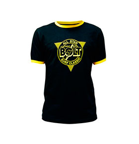 T-shirt Lightning Bolt® | Preto All Star Tee