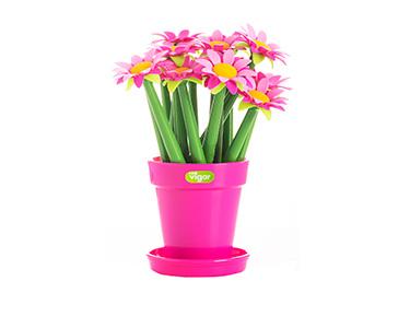 Porta Canetas c/ 15 Unid. Vigar® Flower Shop | Escolha a Cor