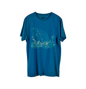 T-shirt Lightning Bolt® | Azul Monster Fish Tee
