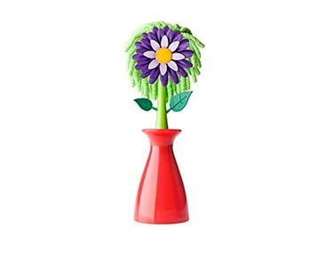 Pano Microfibra p/ Ecrãs c/ Suporte Vigar® Flower Shop