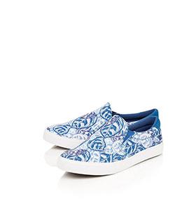 Ténis Gola® em Tecido | Azul e Branco