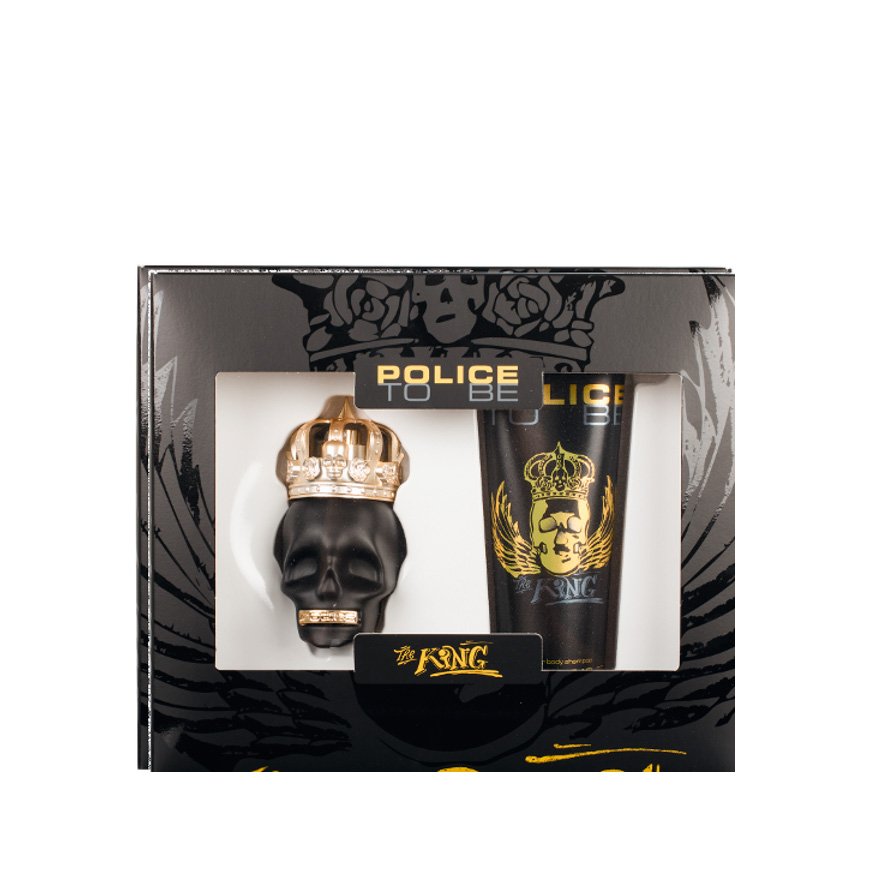 Perfume To Be The King Police® + All Over Body Sham