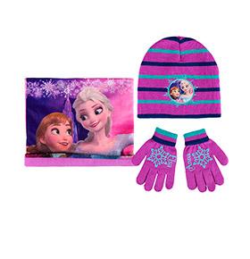 Conjunto 3 Peças Frozen | Elsa e Anna
