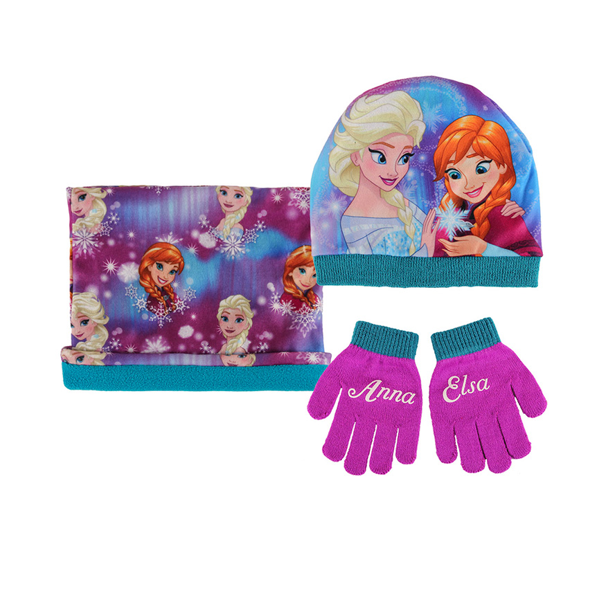 Conjunto Frozen com Três Peças