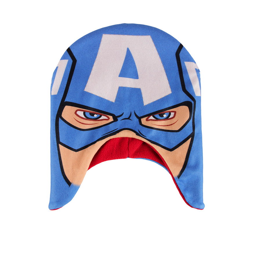 Gorro Premium Avengers   Azul