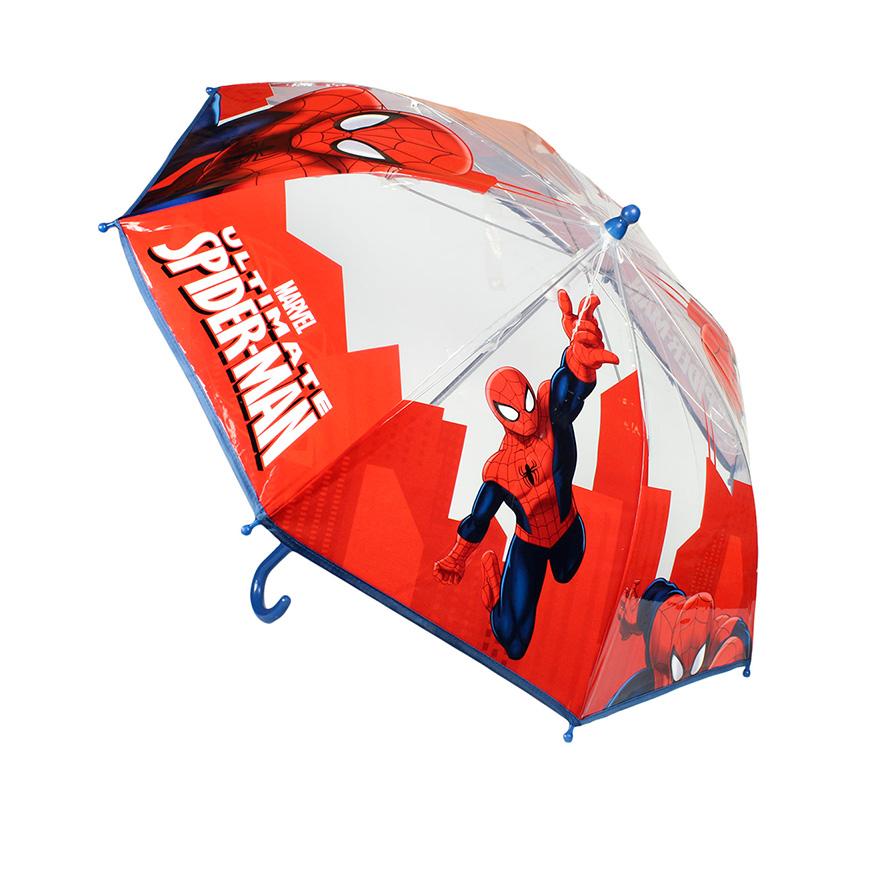 Guarda-Chuva Manual Homem Aranha   Azul e Vermelho