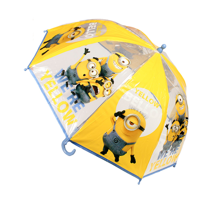 Guarda-Chuva Minions Amarelo   45 Cms