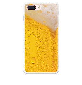 Capa de Gel BeCool® iPhone 7 Plus | Cerveja Loira