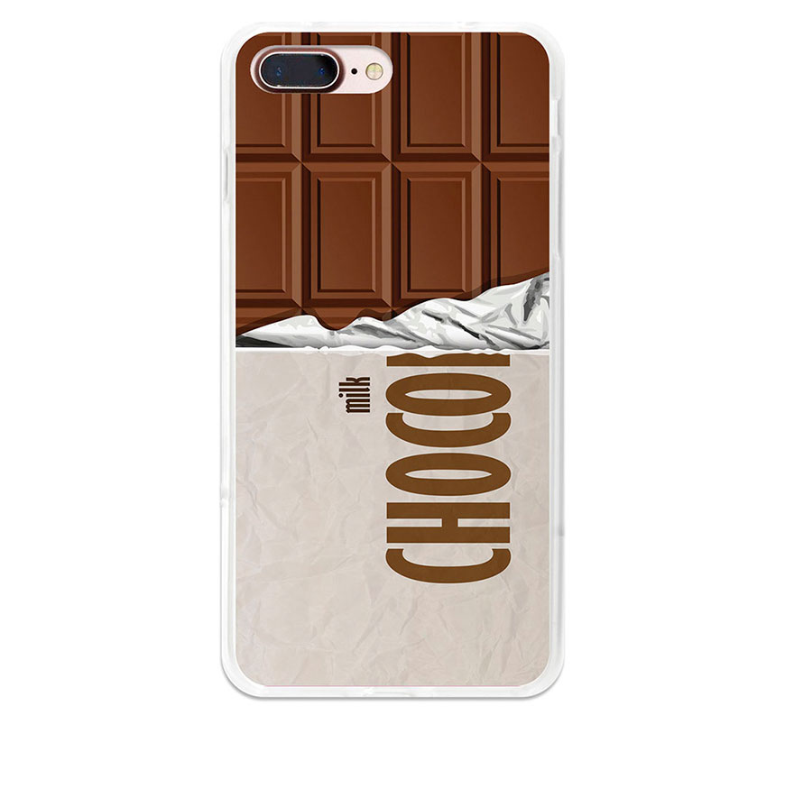 Capa de Gel BeCool® iPhone 7 | Tablete de Chocolate