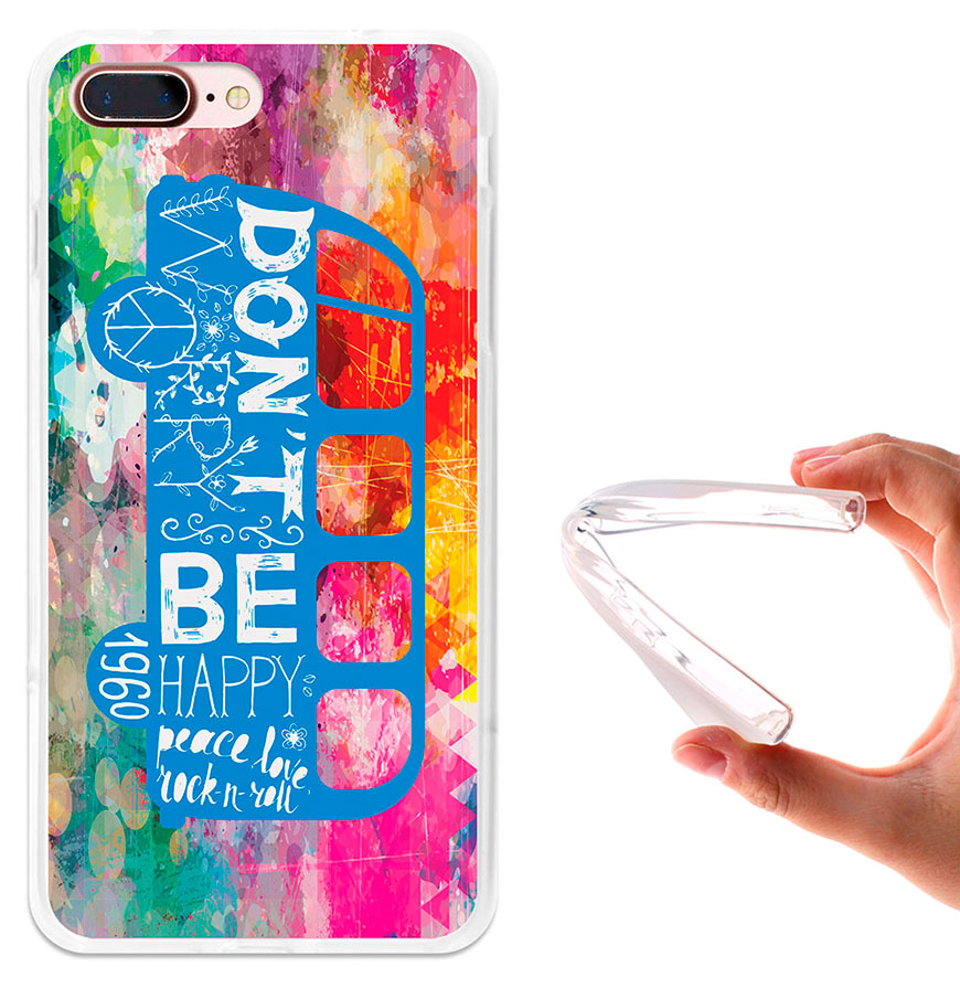 Capa de Gel BeCool® Huawei G Play Mini | Felicidade Hippie