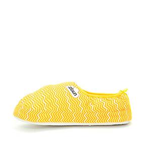 Pantufas Zick Zack Nuvola® | Amarelo