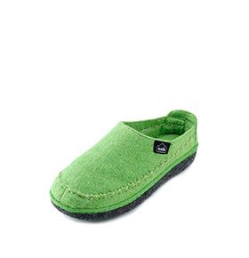 Pantufas Wool Nuvola® | Verde Claro
