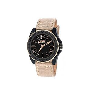 Relógio Watx & Colors® BlackOut   Branco e Preto