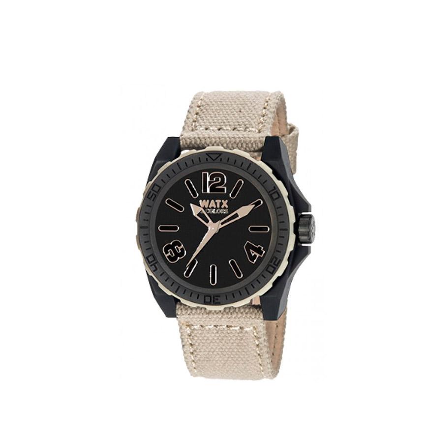 Relógio Watx & Colors® BlackOut | Branco e Preto