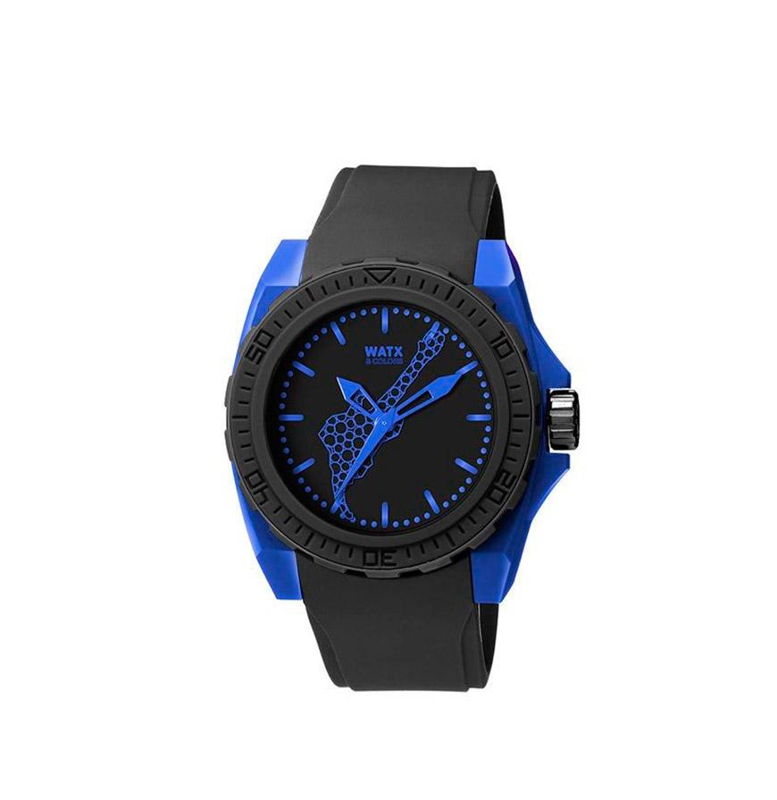 Relógio Watx & Colors® Blackout Rock in Rio | Preto e Azul