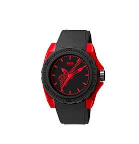 Relógio Watx & Colors® Blackout Rock in Rio | Preto e Vermelho
