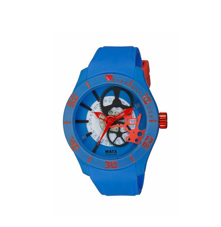 Relógio Watx & Colors® Skeleton Rock in Rio   Azul