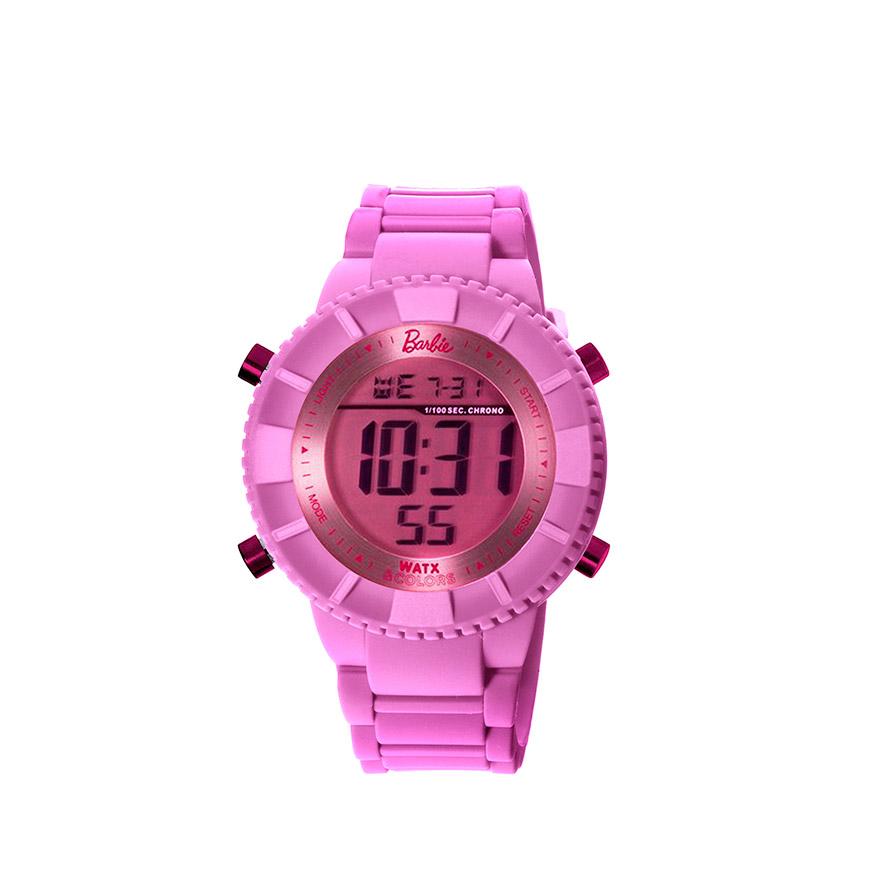Relógio Watx & Colors® Barbie & Ken   Rosa