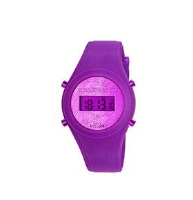 Relógio Watx & Colors® Custo Digital Simples | Roxo