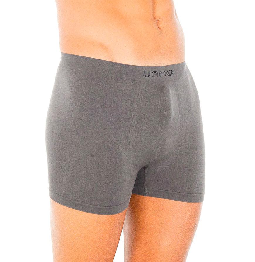 Pack 2 Boxers Unno® | Preto e Cinzento