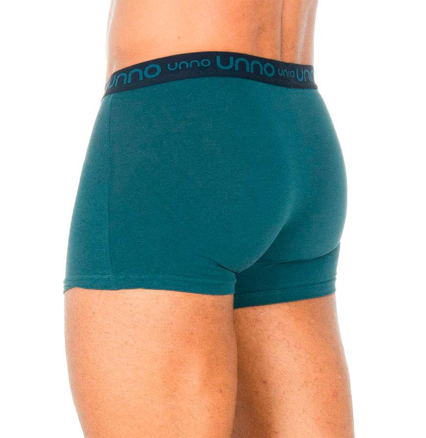 Pack 2 Boxers Unno® | Azul Escuro e Verde