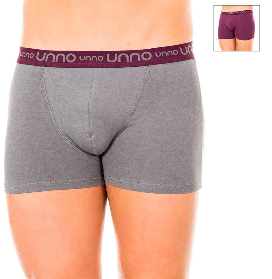 Pack 2 Boxers Unno® | Cinzento e Lilás