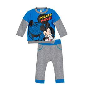 Jogging Disney® Mickey | Cinzento e Azul