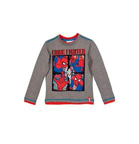 Camisola Spider- Man | Cinzento