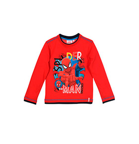 Camisola Spider- Man | Vermelho