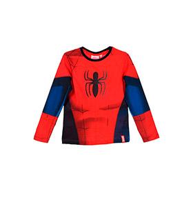 Camisola Spider- Man | Vermelho e Azul