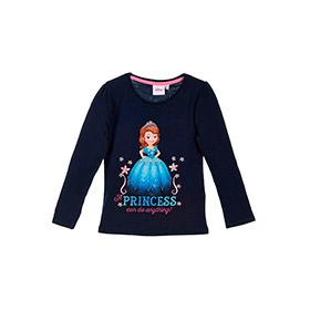 Camisola Princesa Sofia | Azul Marinho