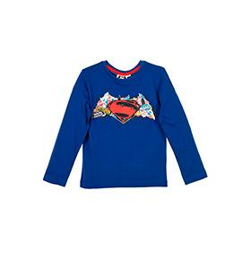 Camisola Batman vs Superman | Azul