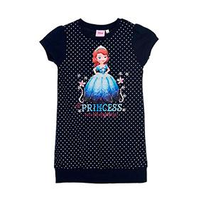 Vestido Princesa Sofia | Azul Marinho