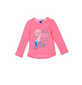 Camisola Frozen Elsa | Rosa