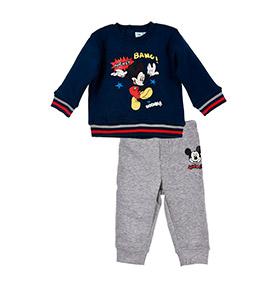Jogging Disney® Mickey | Azul Marinho e Cinzento
