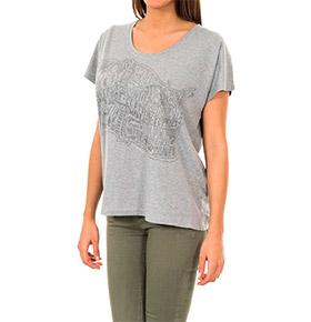 T-shirt Napapijri® Cinza