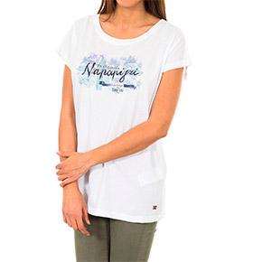T-shirt Napapijri® Branco