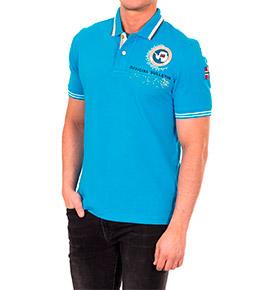 Polo Napapijri® Official   Azul Claro