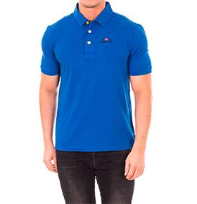Polo Napapijri®   Azul Cobalto