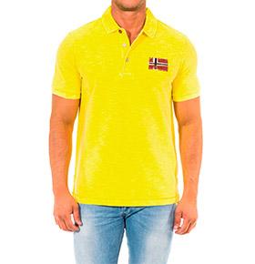 Polo Napapijri® Amarelo