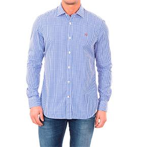 Camisa Napapijri® Azul e Branco
