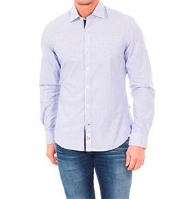 Camisa Napapijri® Azul Claro