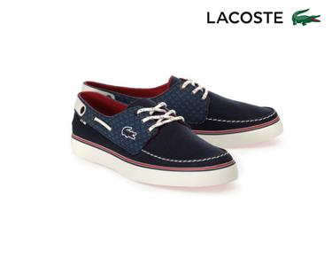 Sapatos de Vela Lacoste® Sumac  Homem | Azul Escuro