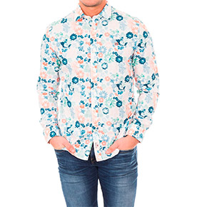 Camisa Napapijri® Padrão Florido