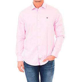 Camisa Napapijri® Rosa Claro