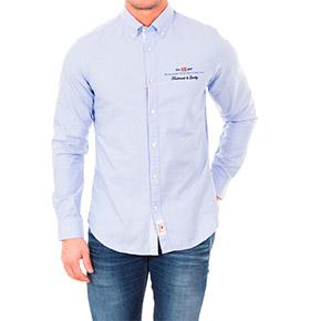 Camisa Napapijri® 1987 | Azul Claro