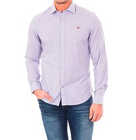 Camisa Napapijri® Azul Celeste