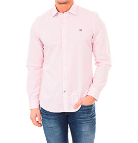 Camisa Napapijri® Rosa Celeste
