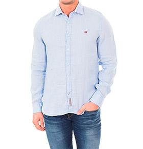 Camisa Napapijri® | Azul Celeste