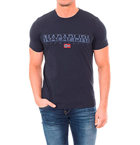 T-shirt Napapijri® Geographic | Azul